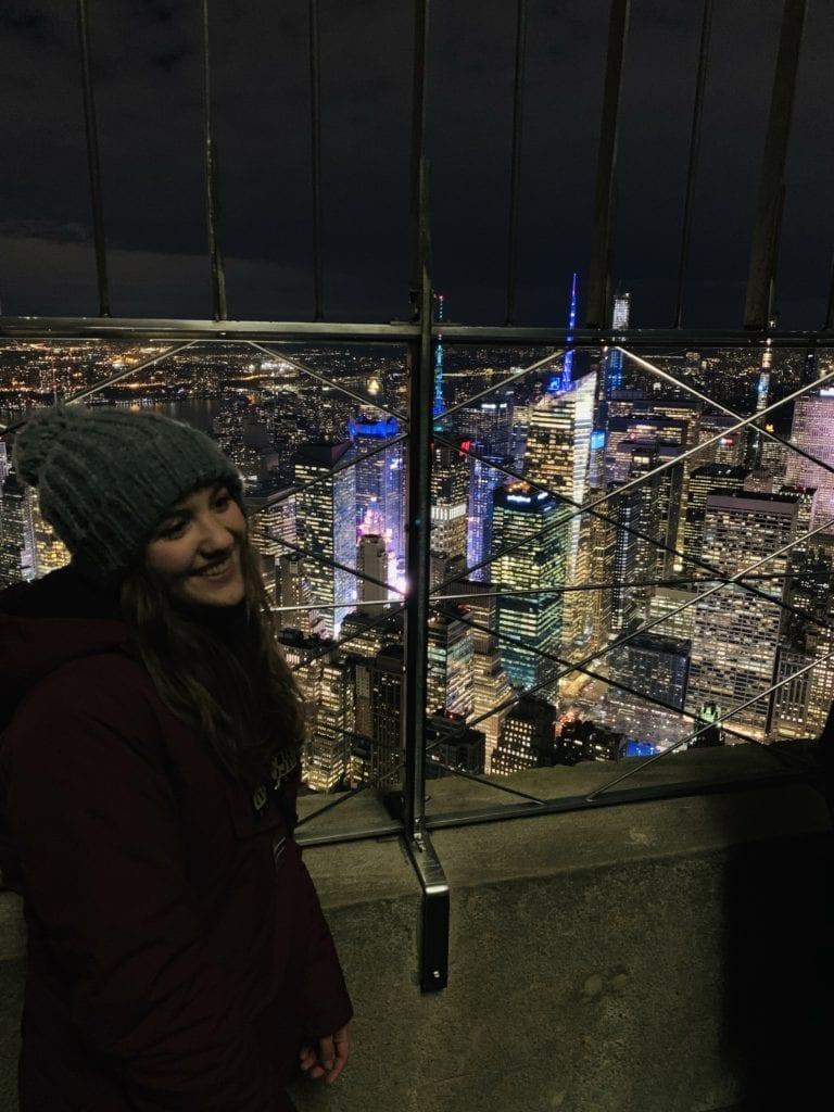 vistas desde Empire State Building