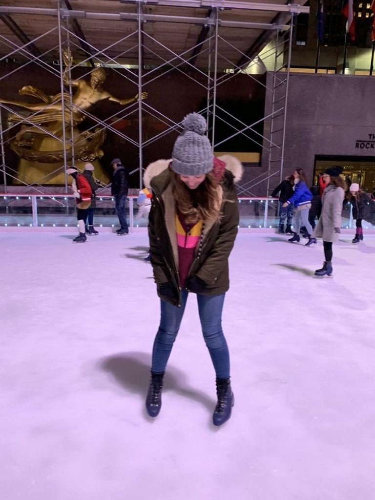 patinaje en rockefeller center