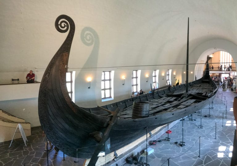 barco vikingo museo