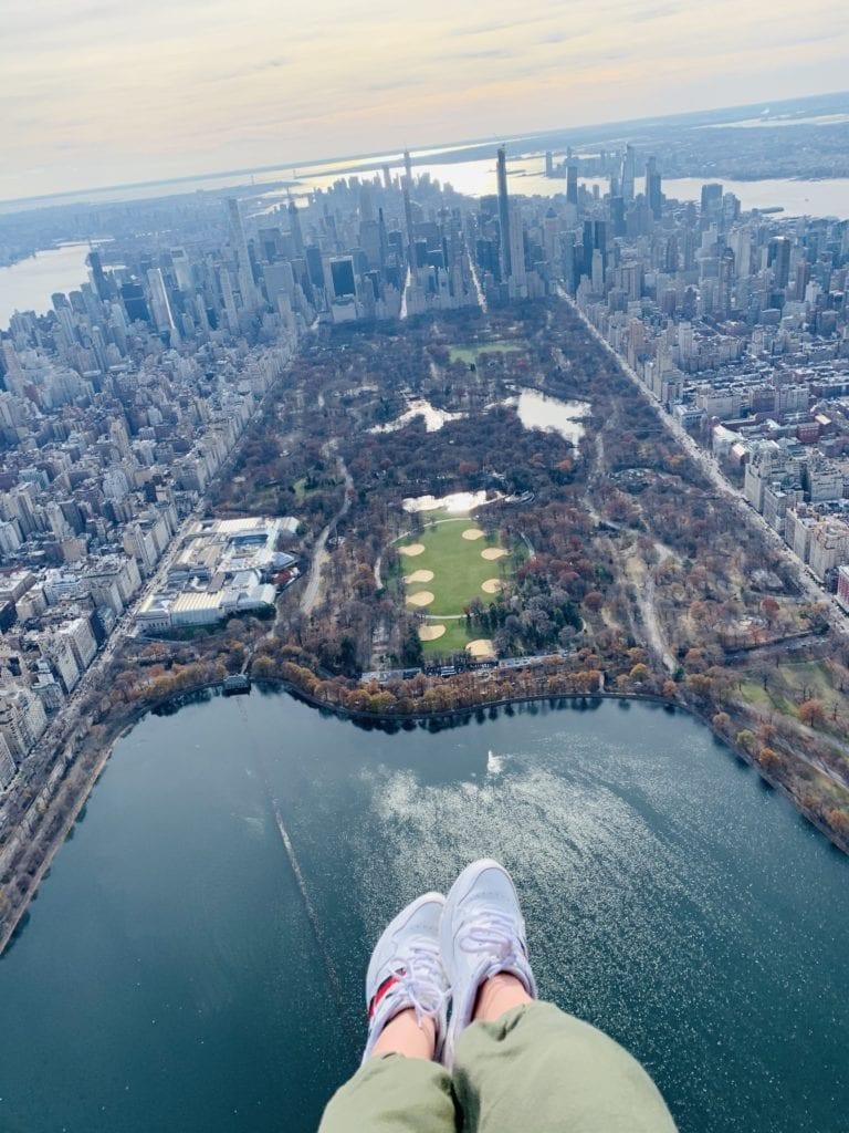 Manhattan desde helicóptero