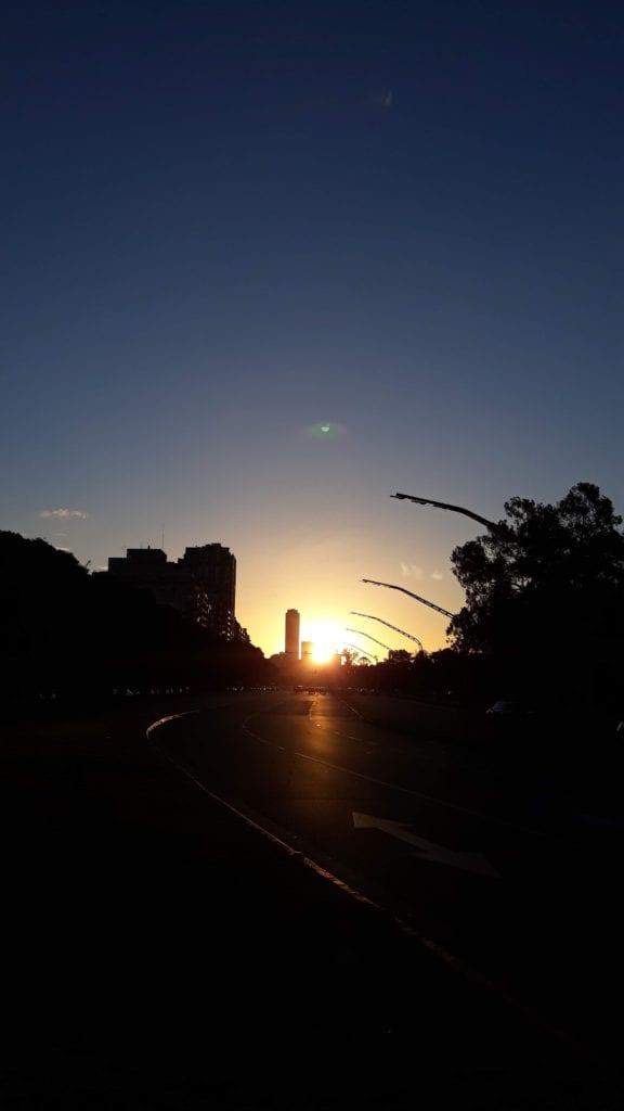 Atardecer Buenos Aires