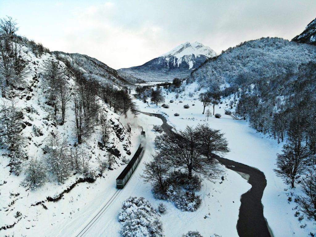 ushuaia en invierno