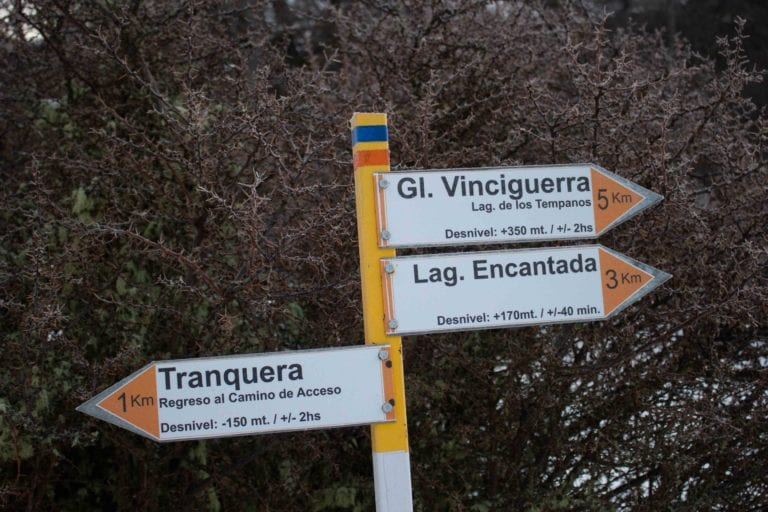 camino al glaciar vinciguerra