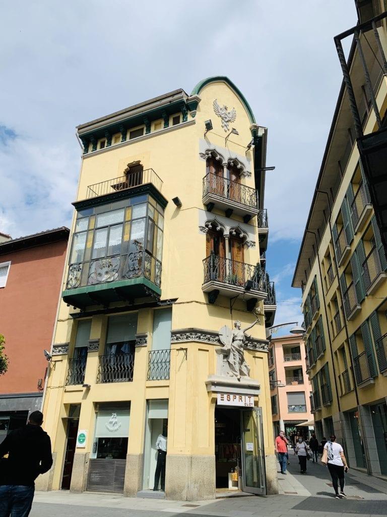 Casas modernistas Olot
