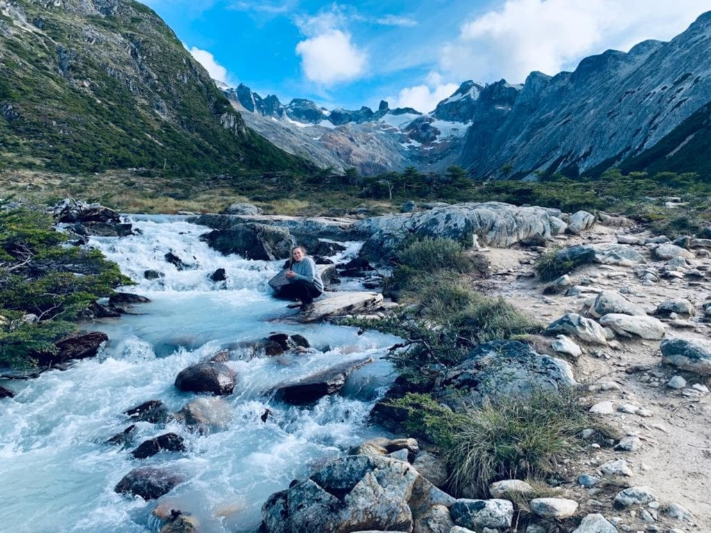 camino a laguna esmeralda