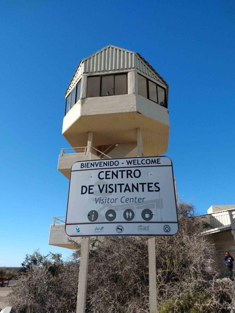 centro de visitantes Península Valdés