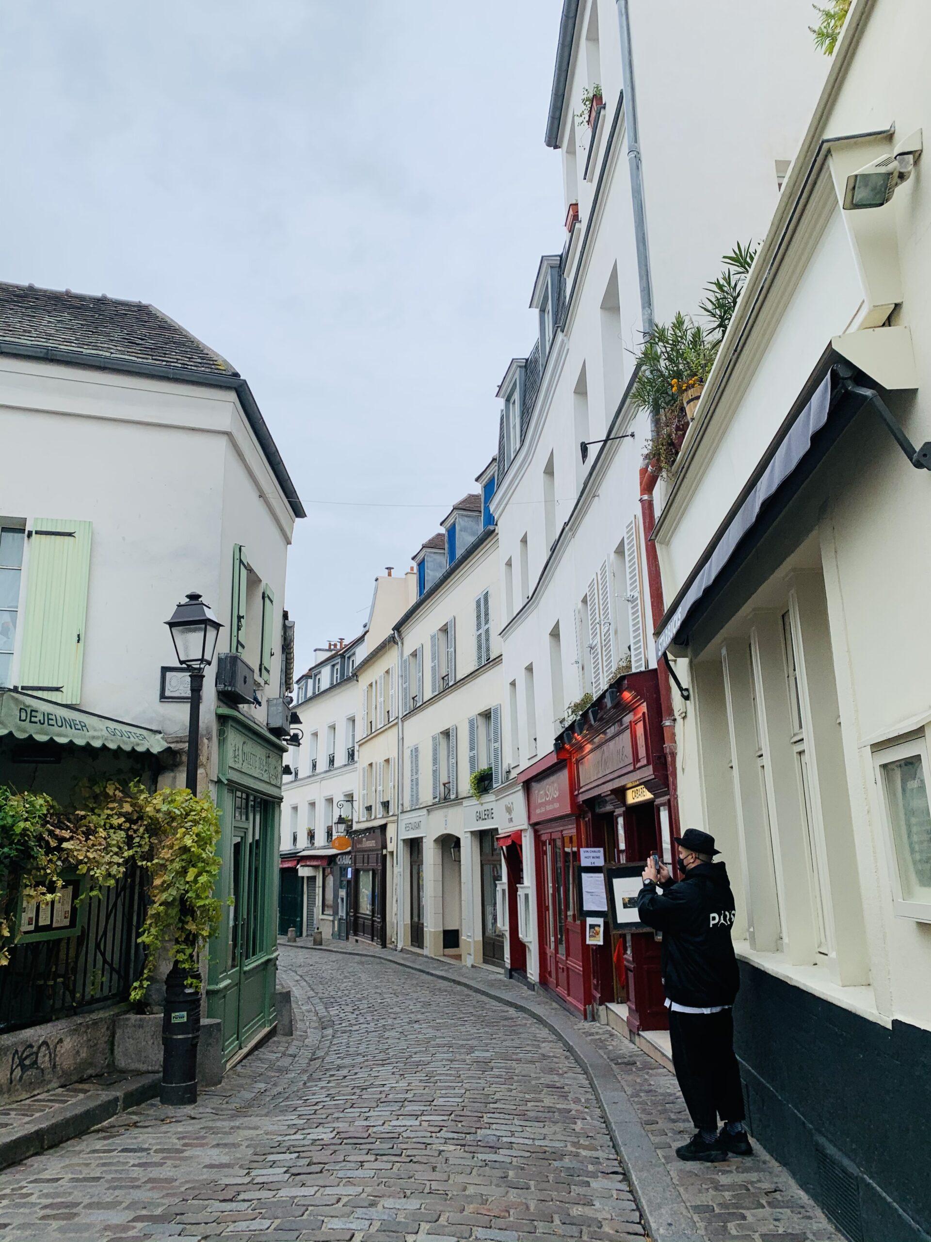 Barrio Montmartre Paris