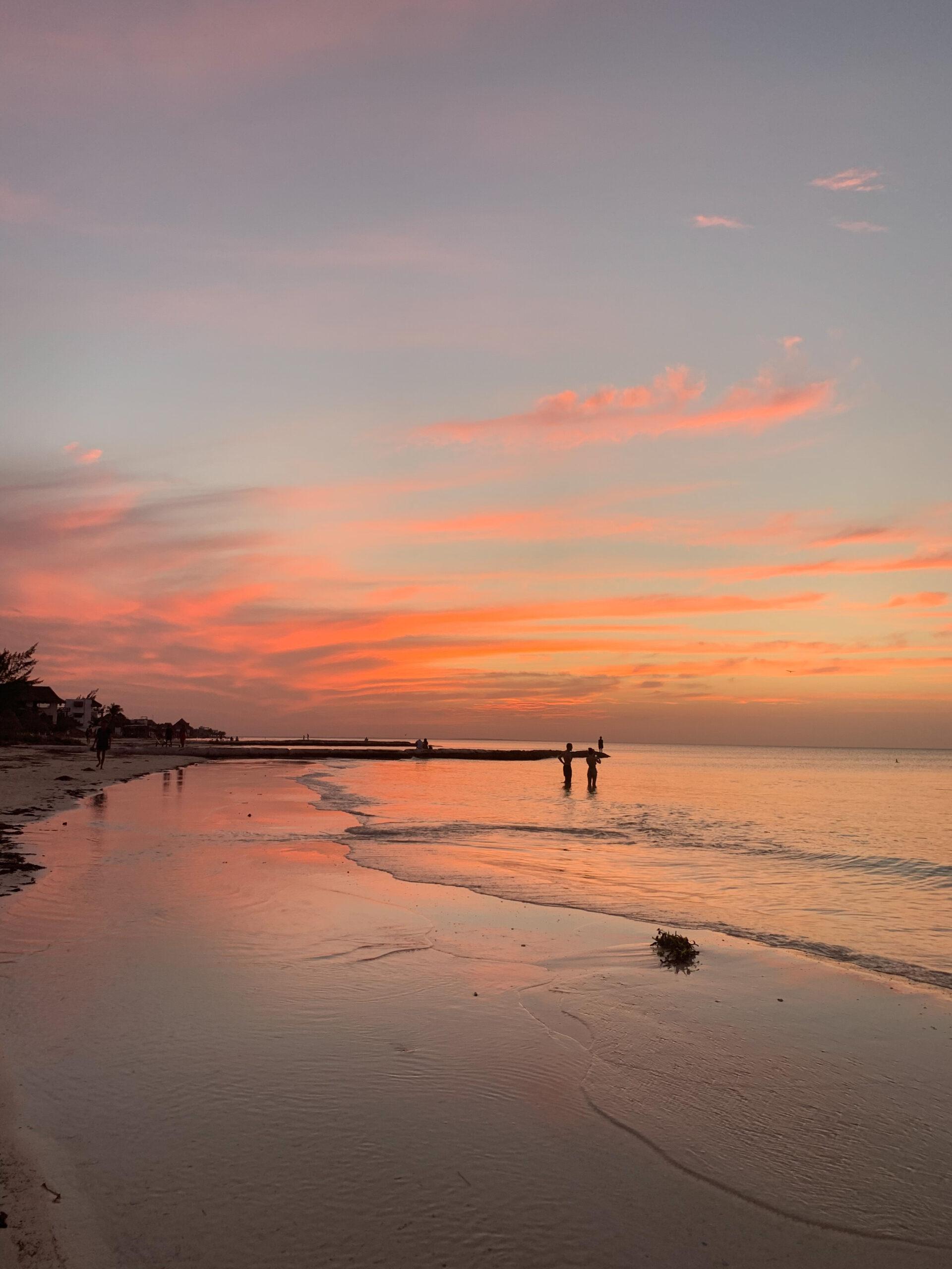 Atardecer Punta Sur Isla Mujeres