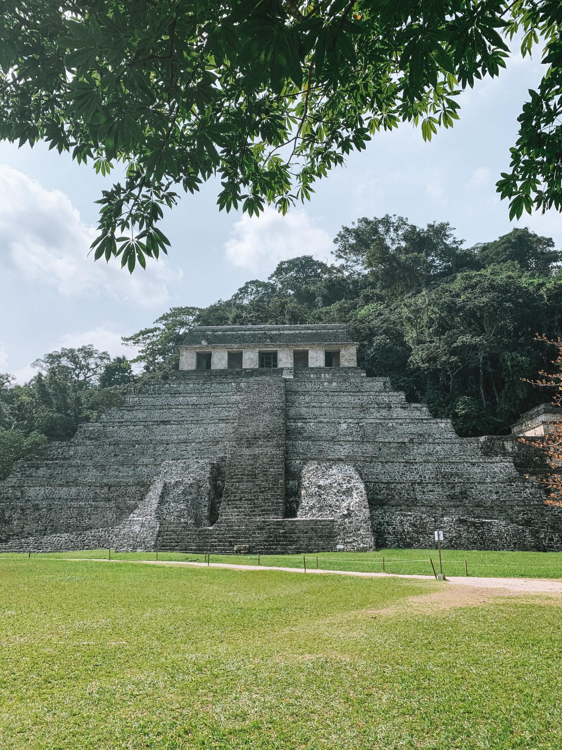 zonas arqueológicas de Palenque