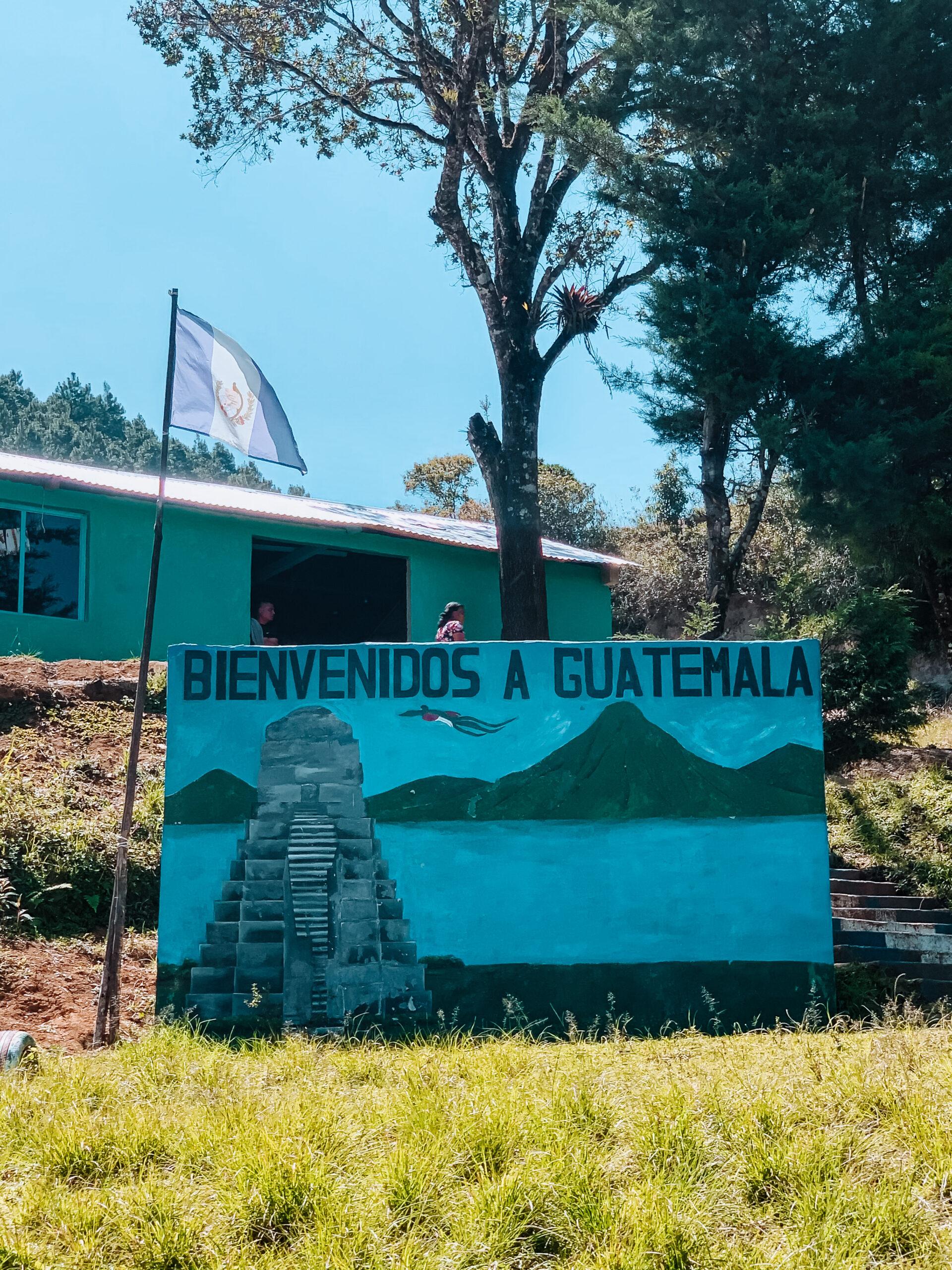 Frontera Guatemala Lagos de Montebello