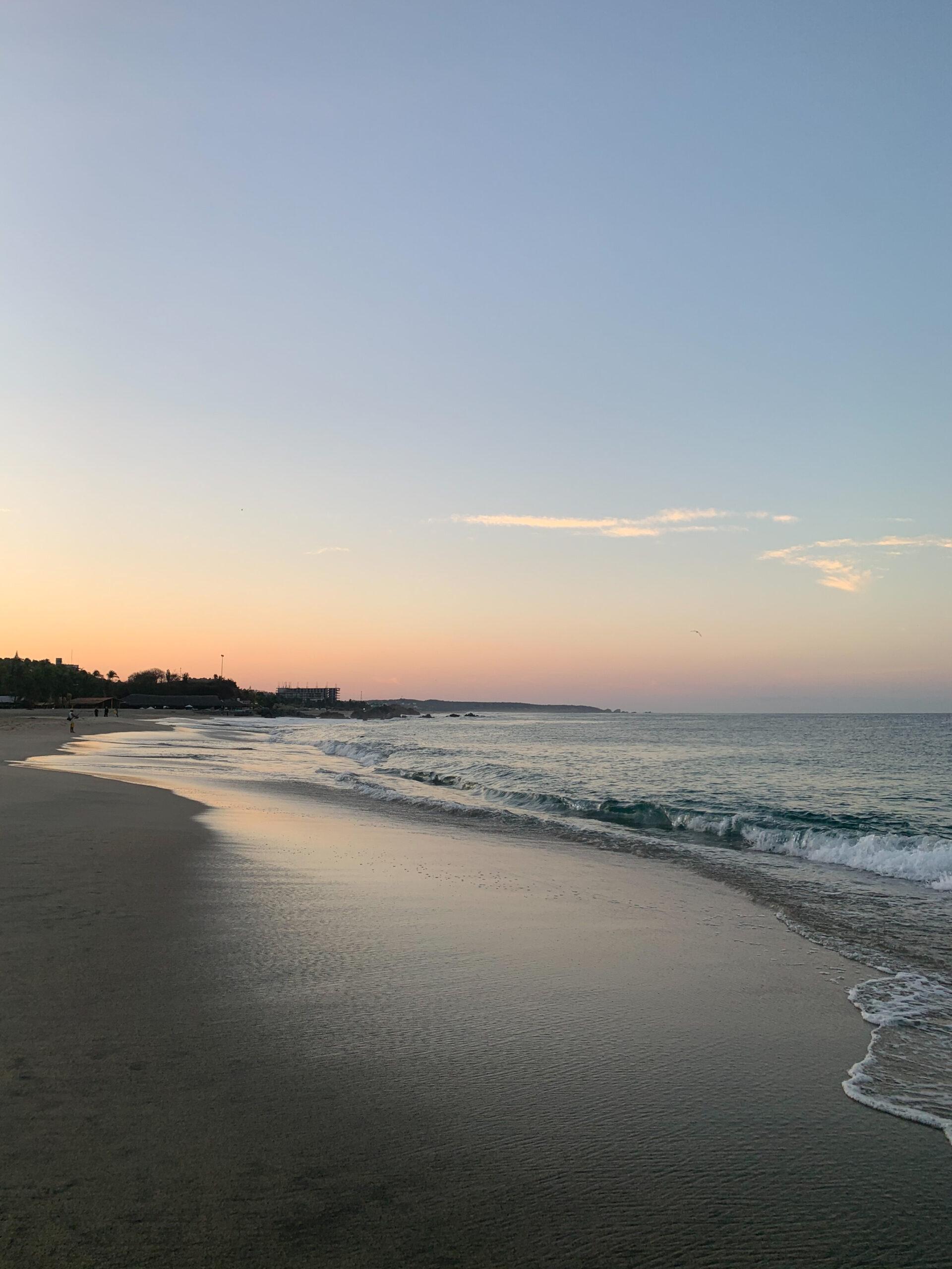 playa Puerto escondido
