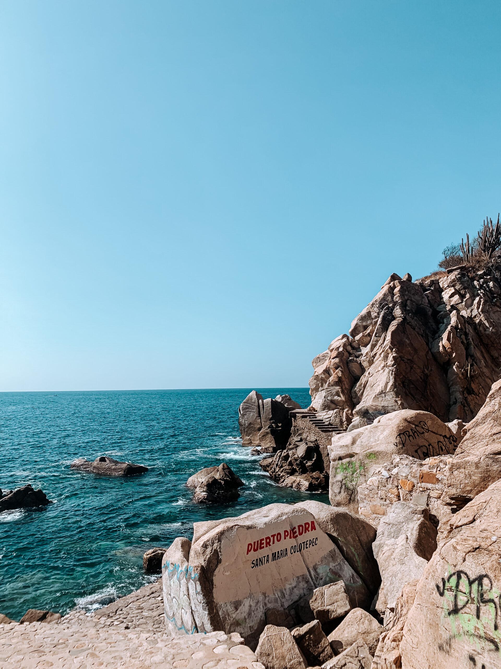acantilados Puerto escondido