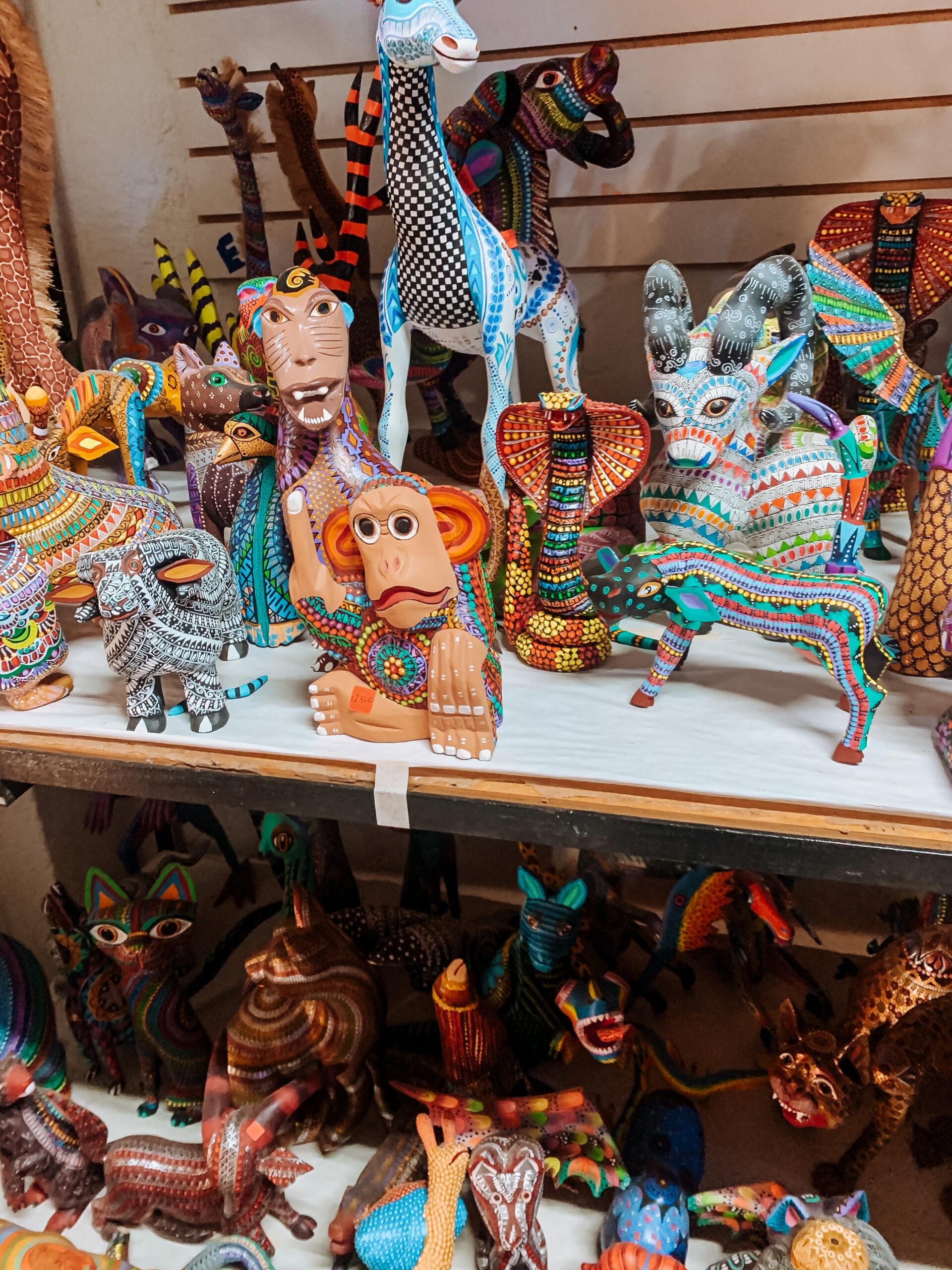 artesanos Oaxaca