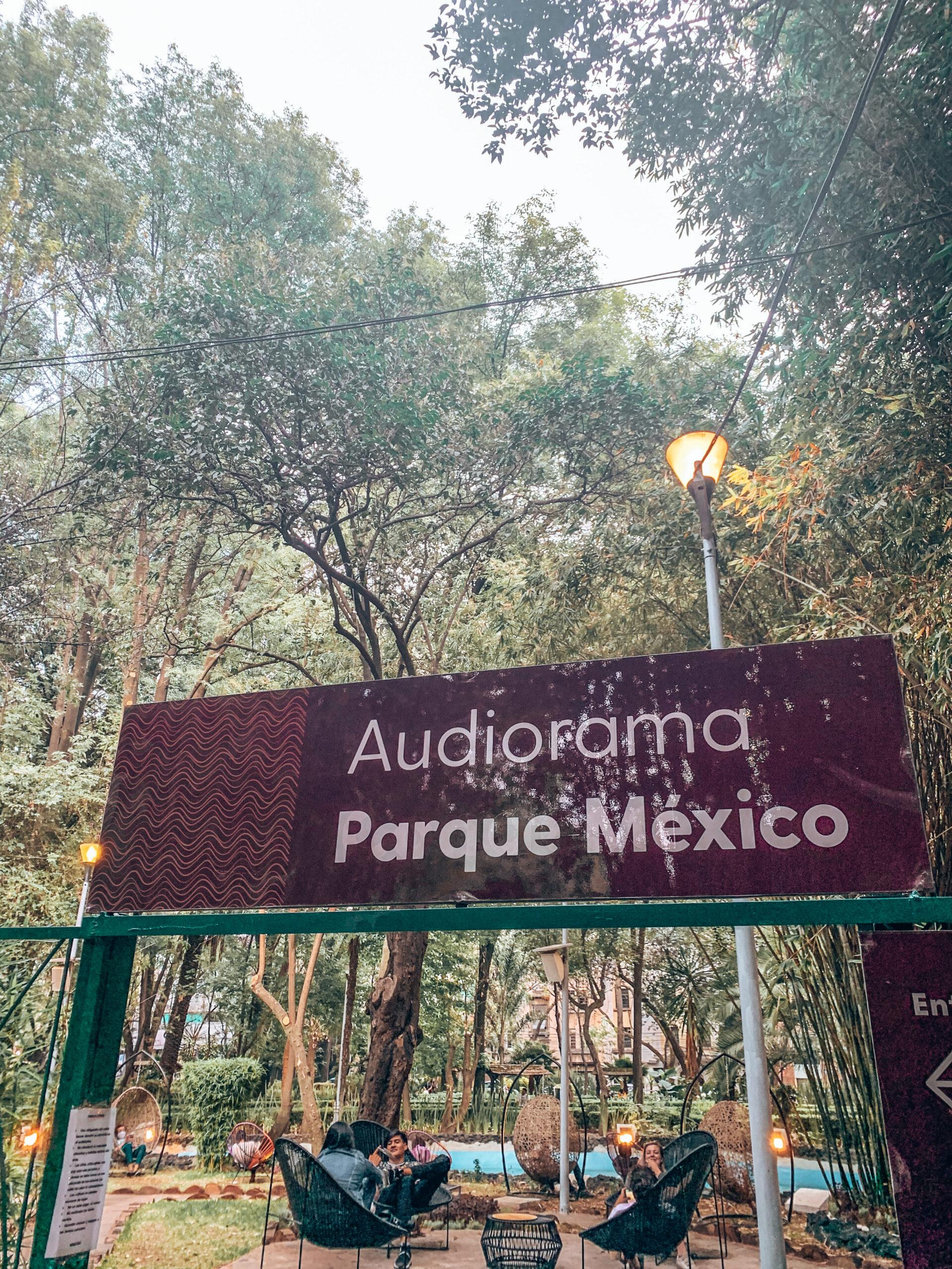 audiograma parque mexico