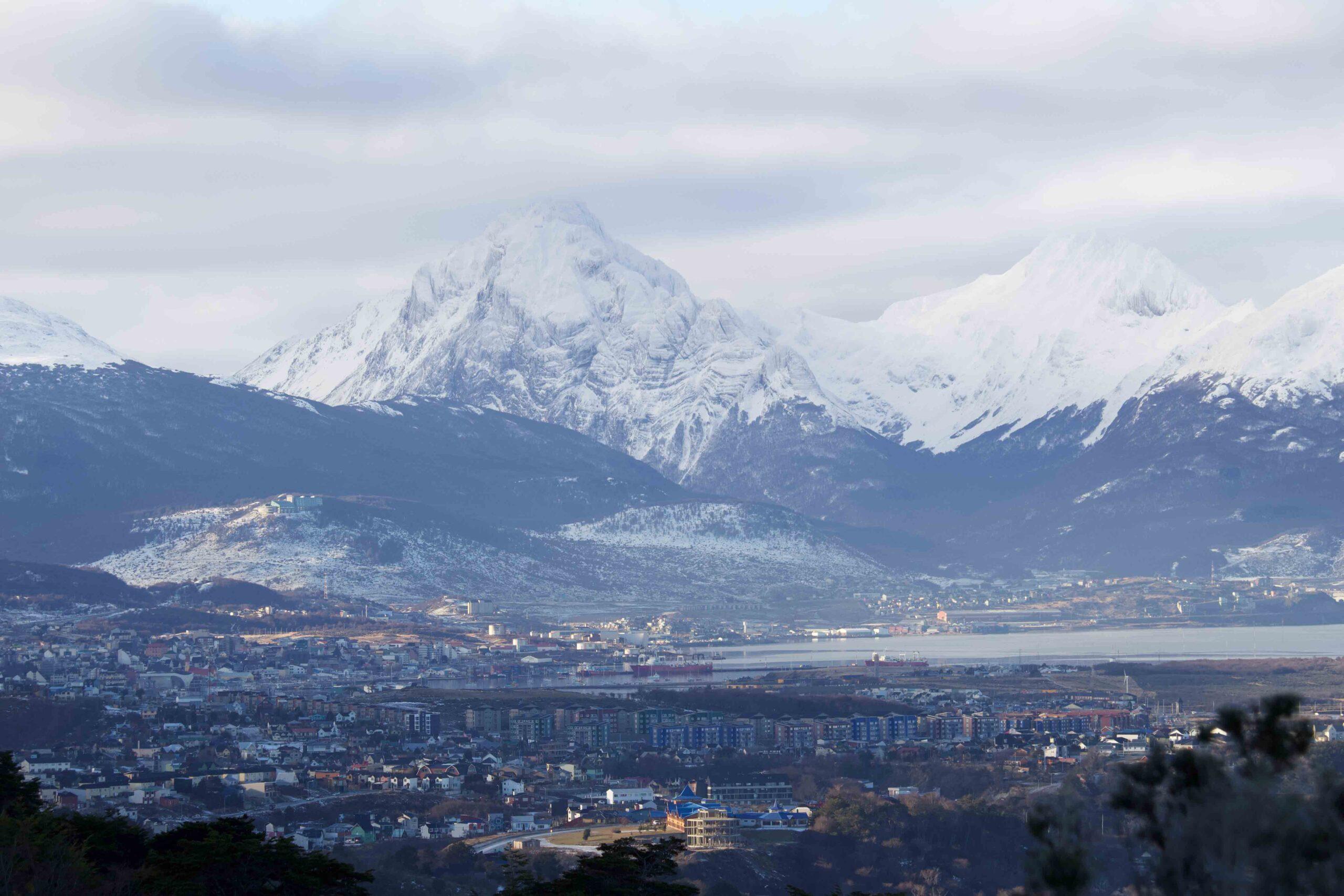 Cómo ir del aeropuerto de Ushuaia al centro
